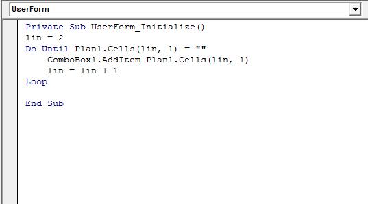 Como criar uma caixa de seleção (combobox) no Excel