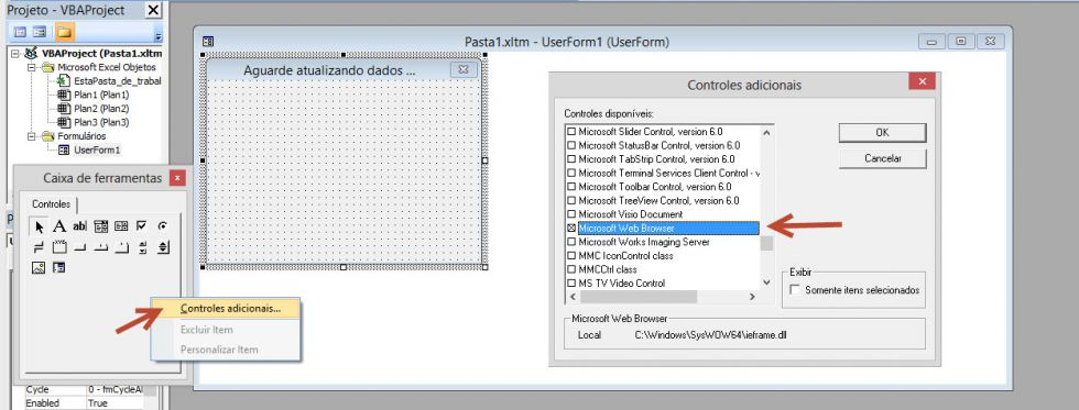 Criando uma tela de boas vindas nas planilhas do Excel